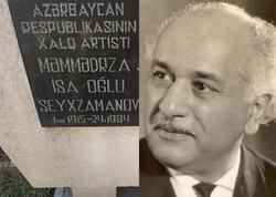 Xalq artistinin məzarı baxımsız halda - FOTO
