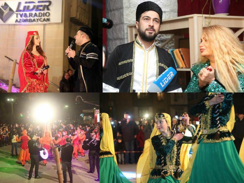 Tanınmışlar Novruzun ilk çərşənbəsini bir arada qeyd etdilər - FOTO
