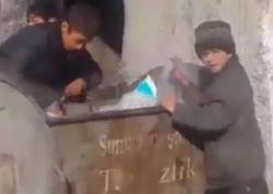 Hər kəs Sumqayıtdakı zibilyığan bu uşaqlardan danışır - VİDEO