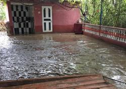 Cəlilabadda evləri su basdı
