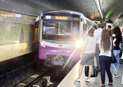 """Metroda həyəcanlı anlar - <span class=""""color_red"""">Qatar tuneldə qaldı - YENİLƏNİB </span>"""