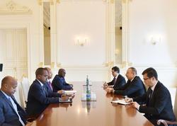 Prezident İlham Əliyev Cibutinin xarici işlər və beynəlxalq əməkdaşlıq nazirini qəbul edib