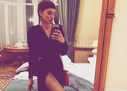 Azərbaycanlı müğənni məşqdən yarıçılpaq FOTO paylaşdı