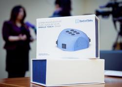 Bank of Baku görmə məhdudiyyəti olan uşaqlar üçün Braille teach cihazını təqdim etdi!