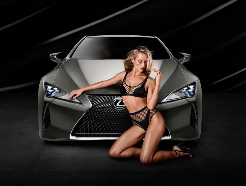 Hanna Lexus reklamında - FOTO