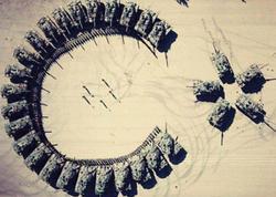 Türkiyə tankları Əl-Bab zəfərini belə qeyd etdi - FOTO