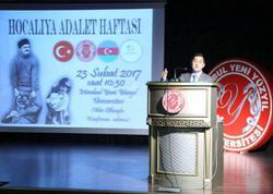 """İstanbulda """"Xocalıya Ədalət"""" həftəsi keçirilib - FOTO"""