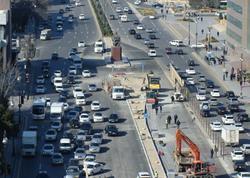 Problemli yolda sürücülərin işi asanlaşdı - FOTO