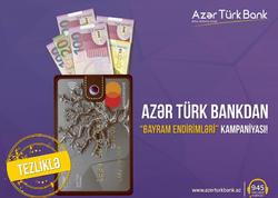 Azər Türk Bank bayram endirimlərinə başladı