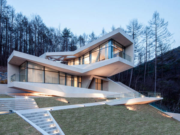 Koreyada istirahət evi - FOTO