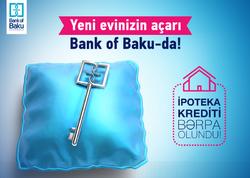 Bank of Baku-nun müştəriləri tezliklə ev sahibi olacaq!