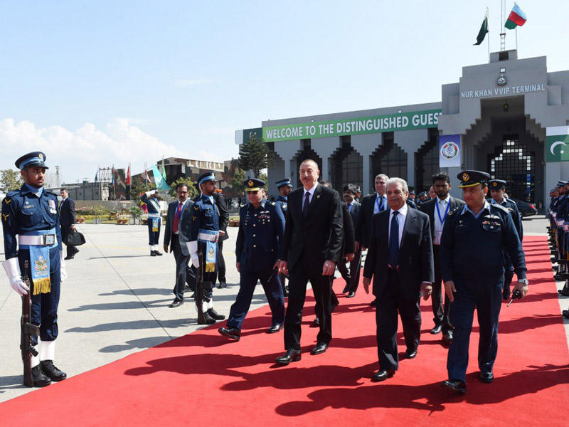 Prezident İlham Əliyevin Pakistana səfəri başa çatıb - FOTO