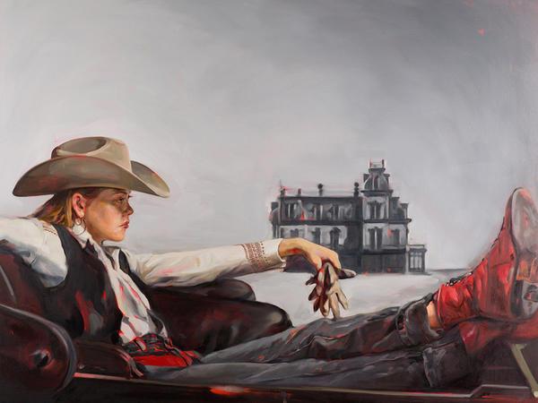 Onlar qadın kovboylardır - FOTO