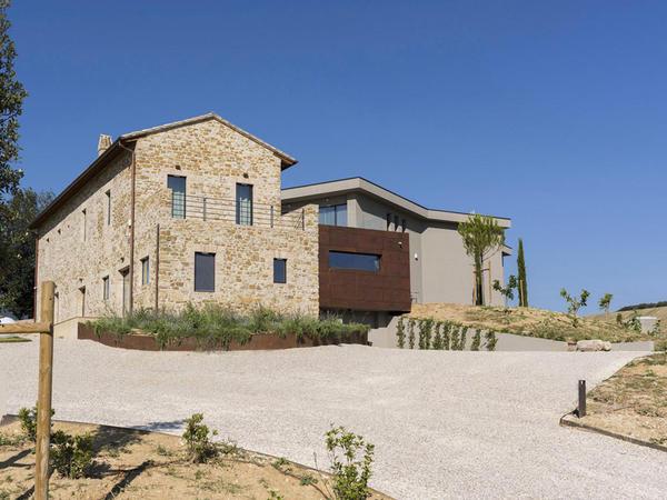 İtaliyada kənd evi - FOTO