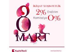 """Kapital Bank-dan xanımlara """"İkiqat Xoşbəxtlik"""""""