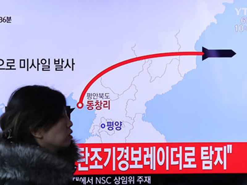 MÜHARİBƏ BAŞLADI? Şimali Koreya Yaponiyaya 3 raket atdı - VİDEO - FOTO