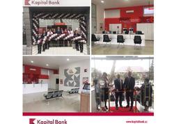 Kapital Bank-ın yenilənmiş Göyçay filialı istifadəyə verildi