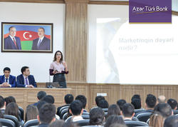 Azər Türk Bank Naxçıvanda gənclərə təlim keçdi