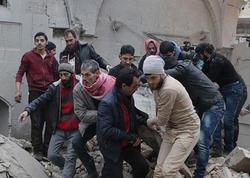 Amerika namaz vaxtı məscidi bombaladı - FOTO