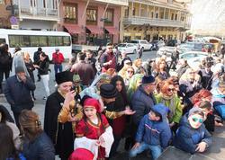 Tbilisidə Novruz bayramı Heydər Əliyev parkında qeyd olunub - FOTO