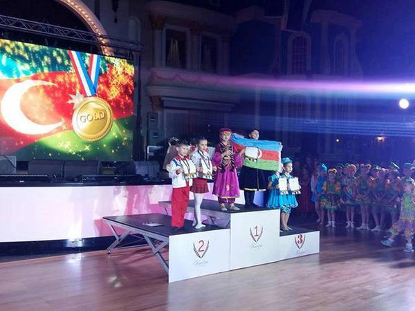 Azərbaycan himni Moskvada səsləndi və bayrağı yüksəldi! - FOTO