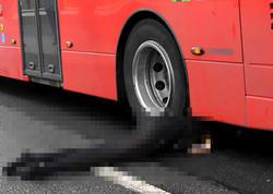 Londonda avtobusun altında qalan qadın türk əsilli çıxdı - FOTO