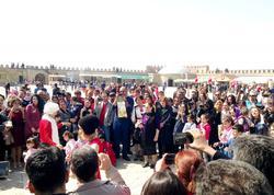 Naxçıvanqalada Novruz şənlikləri - FOTO