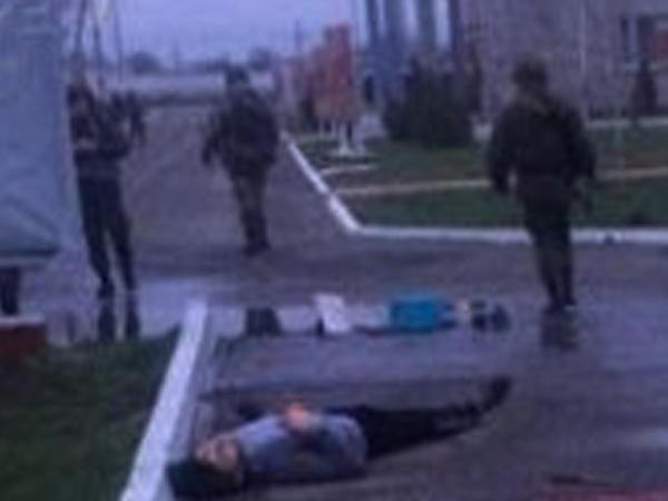 Rusiya Qvardiyasının hərbi hissəsinə hücum: 6 hərbçi öldü, 3 yaralı - YENİLƏNİB - FOTO