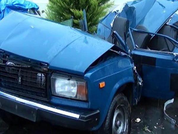 """İki """"VAZ 2107"""" toqquşdu: 3 yaralı"""