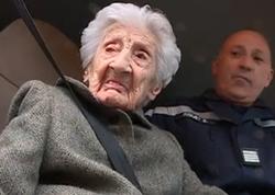 """112 yaşlı qadına ad günü hədiyyəsi: <span class=""""color_red"""">yanğınsöndürən maşın - FOTO</span>"""