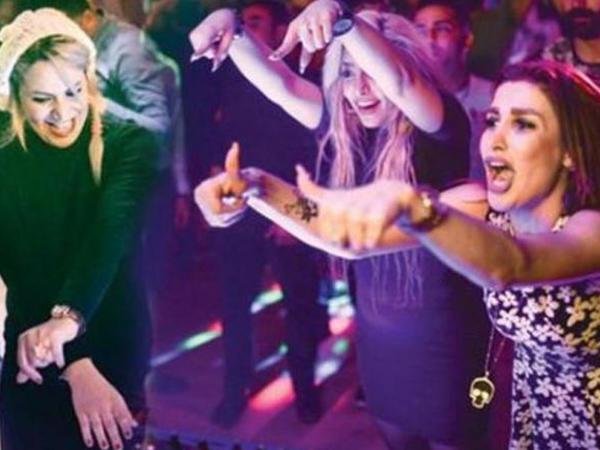 İranlı qızların bayram günlərində gecə klubu əyləncələri - VİDEO - FOTO