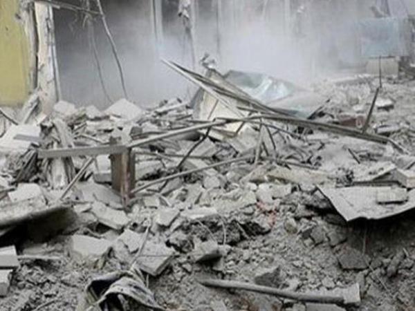 Suriyada hava hücumu: 12 ölü