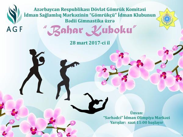 """Bədii gimnastika üzrə """"Bahar Kuboku"""" yarışı keçiriləcək"""