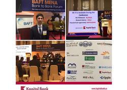 Kapital Bank Beynəlxalq Maliyyə Şurasının açılışında iştirak edib