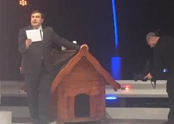 Saakaşvili aparıcılıq edəcək - FOTO