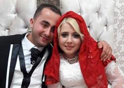 8 ay əvvəl evlənən cütlük yol qəzasında öldü - FOTO