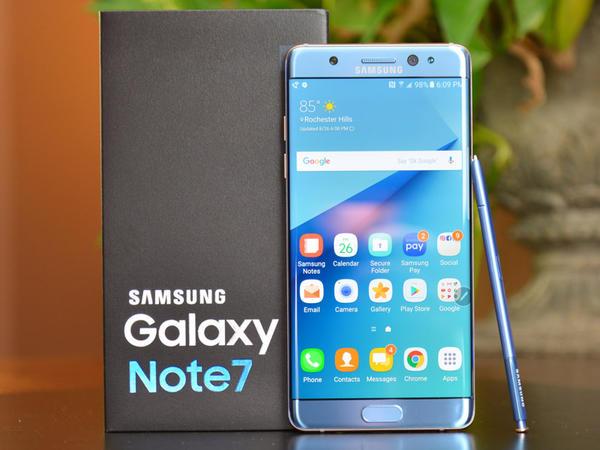 Galaxy Note 7 yenidən satışa çıxır - FOTO