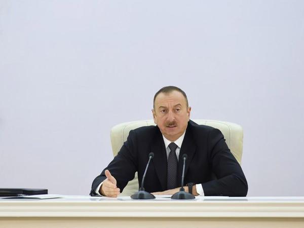 """İlham Əliyev: """"Azərbaycanda pambıqçılığı demək olar ki, bərpa etmişik və bundan sonra ancaq inkişaf yolu ilə gedəcəyik"""