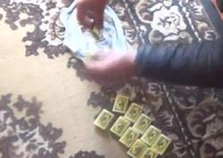Evində və avtomobilində külli miqdarda narkotik tapıldı - VİDEO - FOTO