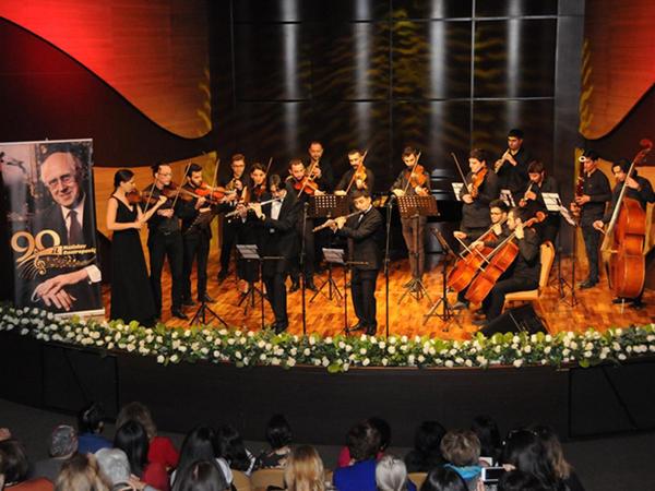 Rostropoviçin 90 illik yubileyinə həsr olunmuş konsert keçirilib - FOTO