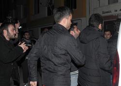 Polislər qıza sataşıb qaçan şəxsi binanın damında tutdular - FOTO