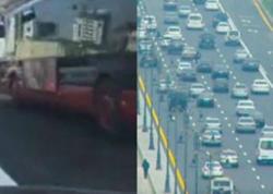 Bakıda avtobuslar üçün ayrılan xətlərin aqibəti - VİDEO