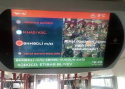 """""""BakuBus""""dan növbəti təqdirəlayiq addım - FOTO"""