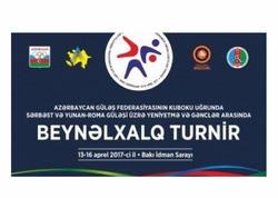 Bakıda güləş üzrə beynəlxalq turnir keçiriləcək