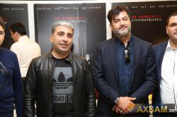Coşqun və Rafael kinoteatrda - FOTO