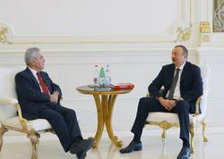Prezident İlham Əliyev Haynts Fişeri qəbul etdi