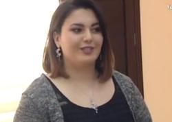 Rafael İsgəndərovun qızı təqdimat etdi - VİDEO