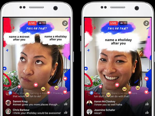 Facebook, olduqca real kamera effektlərini təqdim etdi
