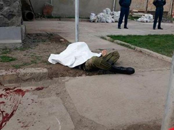 Gümrüdə rusiyalı hərbçini öldürən şəxs ordudan tərxis olunub