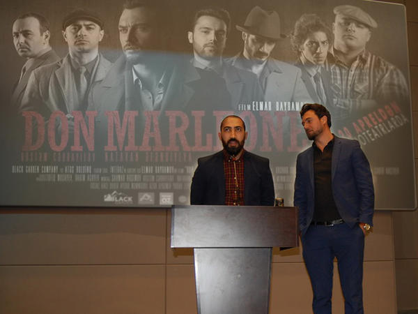 """""""Don Marleone"""" Masallıda izləyiciləri ilə görüşüb"""
